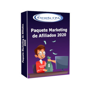Curso Paquete Marketing de Afiliados 2020 - Escuela CPA